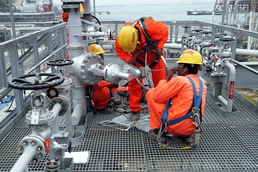 تعمیر و نگهداری نیروگاه نفت و گاز