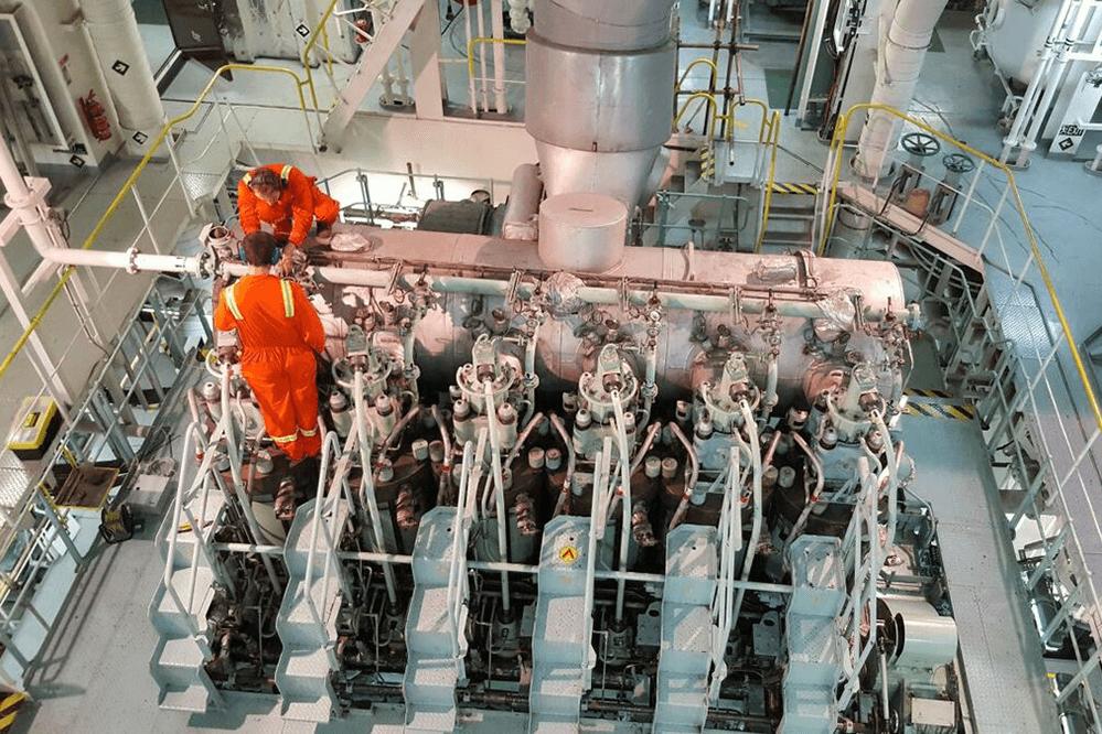 تعمیر و نگهداری کشتیرانی